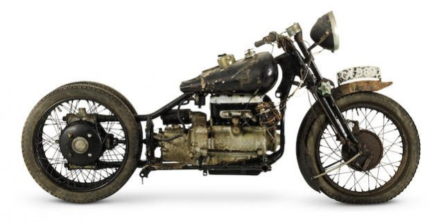 Brough Superior - The Rolls Royce of Motorcycles - Record Price